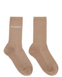 Jacquemus Beige Les Chaussettes Socks