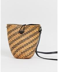 Faithfull The Brand Faithfull Cornelia Straw Bucket Bag