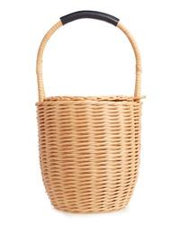 A.P.C. Panier Jeanne Wicker Basket Bag