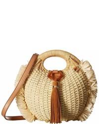 Sam Edelman Pomona Straw Basket W Raffia Handbags