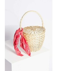 Free People Straw Basket By