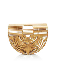Catherine K Collections Bamboo Half Moon Clutch