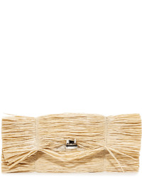 Maison Margiela Mm6 Straw Clutch
