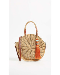 Giuliana round straw tote medium 6988412