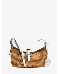 Michl kors naomi medium straw crossbody medium 706185