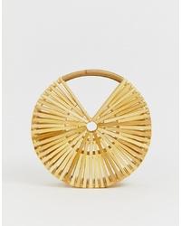 ASOS DESIGN Bamboo Circle Bag