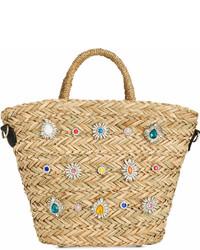 Cheryl small straw satchel medium 6988856