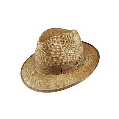 bb8cf7b7 Borsalino Hats Borsalino Sisal Straw Fedora Hat Wheat, $221 ...