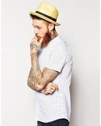 63fb77d17b119 ... Brixton Castor Straw Fedora Hat ...
