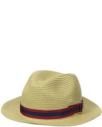 Original Penguin Cuda Packable Straw Fedora