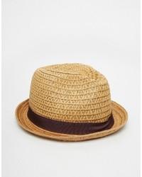Goorin Buckets Straw Fedora Hat Goorin Bros. 03eaf08fd7f4