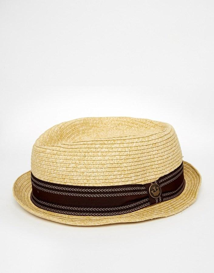 c3cd95ba75c2a Tan Straw Hats Goorin Bros. Goorin Habana Pork Pie Hat ...