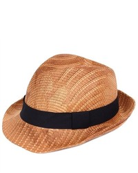 PDS Online Fedora Vented Lightweight Cowboy Style Straw Hat