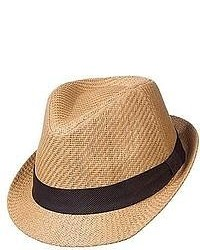 jcpenney St Johns Bay St Johns Bay Toyo Fedora Hat