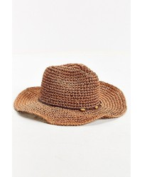 8c7ff5613f688 No Brand Rosin Straw Wide Brim Fedora Out of stock · Urban Outfitters  Knotted Straw Hat