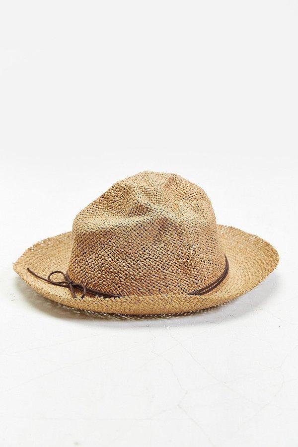 2f6f17247341f Urban Outfitters Rosin Overturned Brim Straw Hat
