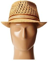 4c308f0534782 ... Tommy Bahama Vent Crochet Raffia Fedora Fedora Hats ...