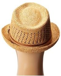 ... Tommy Bahama Vent Crochet Raffia Fedora X Fedora Hats ... 90a6859893b0