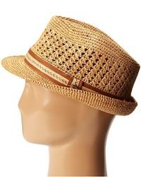 2ca41048866b6 ... Tommy Bahama Vent Crochet Raffia Fedora X Fedora Hats