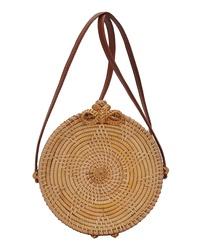 ANTIK KRAFT Bamboo Circle Bag