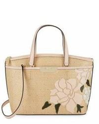 Calvin Klein Lola Floral Stitch Tote
