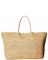 Hat Attack Luxe Tote With Vachetta Handles Tote Handbags