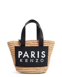 Kenzo Mini Basket Woven Tote