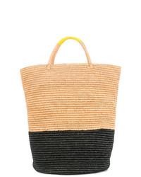SENSI STUDIO Sensi Maxi Colourblock Basket Tote
