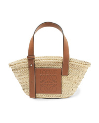 Loewe Small Med Woven Raffia Tote