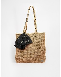 Roxy Straw Shopper Bag