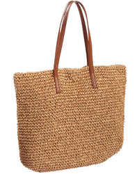 Joe Fresh Straw Tote Natural
