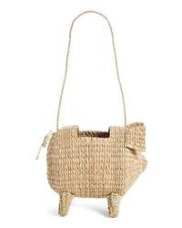 Cult Gaia The Babe Straw Bag