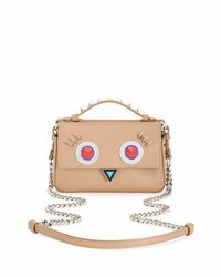 Tan Studded Crossbody Bag