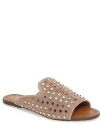 Jessica Simpson Kloe Studded Slide Sandal
