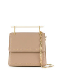 M2Malletier Mini M013 Collectionneuse Studded Shoulder Bag