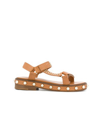 RED Valentino Pearl Stud Sandals