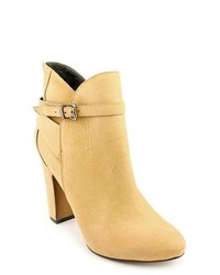 7 For All Mankind Floriane Tan Fashion Ankle Boots