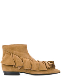 Jw anderson ruffle trim ankle boots medium 4155479