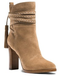 Michael Kors Michl Kors Palmer Ankle Wrap Suede Boot