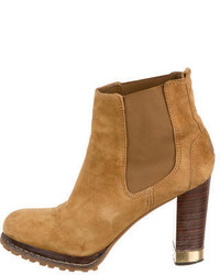 Tory Burch Platform Ankle Boots