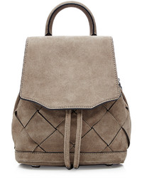 Small suede backpack medium 721240