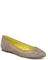 Diane von Furstenberg Corolla Suede Ballet Flats