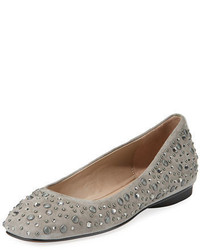 Dora jeweled suede ballerina flat medium 5359755