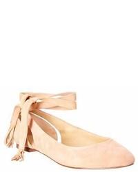 Jerrie suede ballerina flat medium 7010194