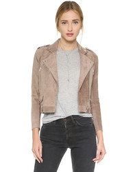 Suede moto jacket medium 529411