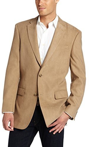Jones New York Two Button Side Vent Corey Suede Sport Coat | Where ...
