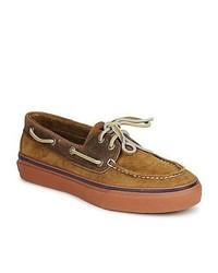 Sperry top sider bahama 2 eye tan boat shoes medium 229611