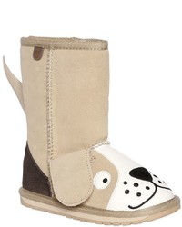 Emu Dog Face Suede Boots