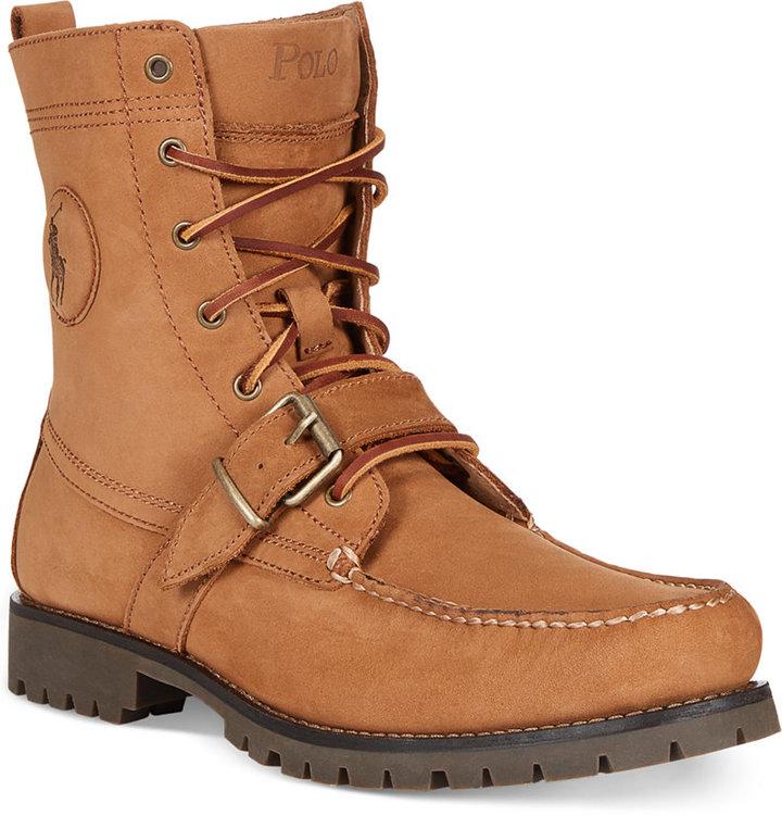 Polo Ralph Lauren Ranger Boots, $169