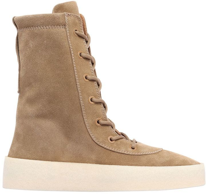 4437840d761 ... Yeezy Suede Lace Up Boots ...